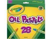 CRAYOLA OIL PASTELS 28 COLOR SET