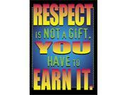 POSTER RESPECT IS NOT A GIFT