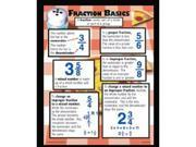 Mcdonald Publishing MC-P137 Fraction Basics Poster Set 9SIA8UT5UB7307