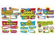 BB SET GOOD MANNERS