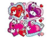 ACCENT PUNCH-OUTS VALENTINES/HEARTS