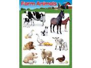 LEARNING CHART FARM ANIMALS 9SIA11U1MN0954