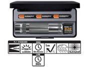 XL50 3-Cell AAA LED Flashlight - Gray
