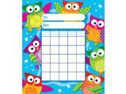 Trend Enterprises Inc. T-73034 Owl Stars Incentive Pad