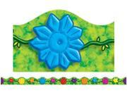 JUNGLE FLOWERS SCALLOPED TRIMMER