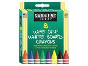 SARGENT ART INC. SARGENT ART WHITE BOARD CRAYONS REG (Set of...