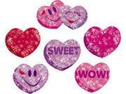 SPARKLE STICKERS HEART HOORAYS