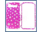 HTC Incredible S / Incredible 2 Star on Hot Pink Protective Case