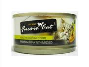 Fussie Cat Tuna W Mussels 2.82oz 24pk