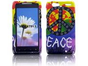 Motorola XT913 (Droid Razr Maxx) Colorful Peace Protective Case