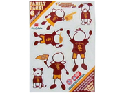USC Trojans Family Decal Auto Pack Small 5 x 7 9SIA12Y3X82185