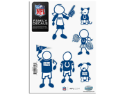 Indianapolis Colts Family Decal Auto Pack Small 5 x 7 9SIA8MJ6Z38867