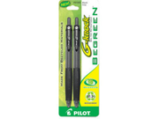 Pilot BeGreen G Knock Gel Ink Pen 2 Pack
