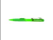 Pentel PD277TD Twist-Erase Click Mechanical Pencil #2, HB Pencil Grade - 0.7 mm Lead Size - Green, Transparent Barrel - 1 Each
