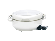 """Maxam  15 """" Electric Roaster with Dome Lid and Tube Handles"""