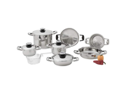 Chef 's Secret  13pc Stainless Steel Cookware Set