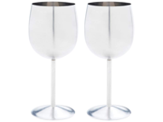 2pc T304 Stainless Steel Wine Goblet Set 9SIA00Y23E4341