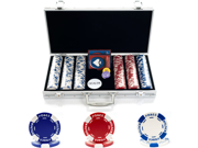300 11.5G Holdem Poker Chip Set w/Aluminum Case