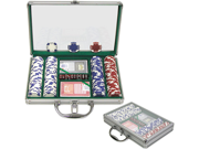 200 11.5G Holdem Poker Chip Set w/Clear Cover Aluminum Case