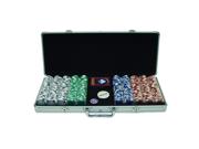 500 11.5G Holdem Poker Chip Set w/Aluminum Case