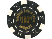 Deadwood Casino 11.5 Gram Poker Chips w/ Denominations 9SIA0YM0M80039