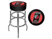 Portland Trail Blazers NBA Padded Swivel Bar Stool