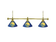 Golden State Warriors NBA 3 Shade Billiard Lamp - 60 inches