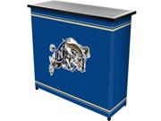 United States Naval AcademyT 2 Shelf Portable Bar w Case