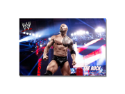 Officially Licensed WWE The Rock Canvas