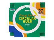 22W Fluorescent T-9 Circular Light Bulb - Daylight