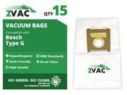 Bosch ZVac Style G Vacuum Bags (15 pack)