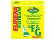 "Style ""F&G"" Filteraire Vacuum Bag .  Eureka Part #57695A"