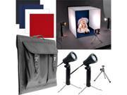 Trademark 82-55614 Deluxe Table Top Photo Studio - Photo Light Box