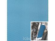 Motorcycle Blue Universal 20x33cm Aluminum Diamond Mesh Grill Fairing insert