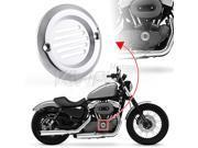 KiWAV billet chrome aluminum point cover 2 holes 11C for Harley Davidson Big Twin 70 99 ventilation