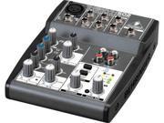Behringer Xenyx 502 5 Input 2 Bus Mixer PA Mixer