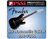 Fender Standard Stratacoustic Guitar Six String Acoustic-Electric Guitar Cutaway