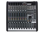 Mackie PROFX12 Compact Effects Mixer W/ USB PA or Recording Mixer with Computer IO