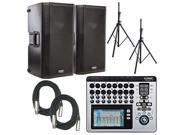 QSC K12 Powered Speaker with TouchMix 16 Mixer