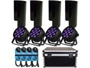 Blizzard LB Par Hex LED Mobile Light Pack w/ Case