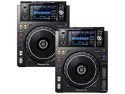 Pioneer XDJ 1000MK2 DJ Multi Player Pair