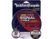 Rockford Fosgate RFIT-6 6' Premium Dual Twist Signal Cable