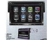 "Soundstream VR-730B 1-DIN A/V Source Unit 7"" Detachable LCD Touch Screen Bluetooth 2.0"