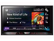 "Pioneer AVH-4000NEX (avh4000nex) 2-DIN Flagship 7"" WVGA Touchscreen Multimedia DVD Receiver"