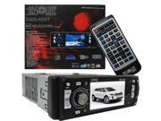 """Absolute DMR420T ABSOLUTE 4"""" SINGLE DIN TFT LCD MONITOR, DETACHABLE FACE, ANALOG TV TUNER, USB INPUT"""
