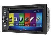 "Soundstream VR-64H2B  2-DIN Multimedia Receiver w/ 6.2"" LCD & MobileLink 8.2"