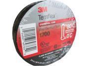 "3M 1700-TEMFLEX Temflex™ Vinyl Electrical Tape, 3/4"" x 60'"