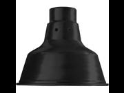 ANP VW507BLACK SVT CORD 7 IN Track Mounted 100W Incandescent Warehouse Pendant; Black Finish