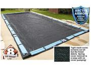 Winter Mesh Pool Cover Inground 16X32 Rectangle Swimming Pool