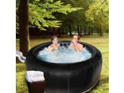 Deluxe 4 Person Inflatable Portable Heated Hot Tub Spa